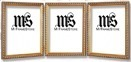 4x6 / 4'' x 6'' Frame for Picture or Photo, Solid Wood, Gold, style #609T